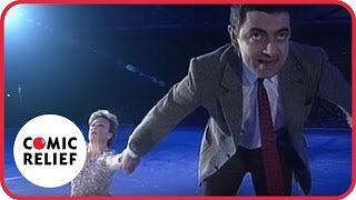 Download Mr Bean in 'Torvill and Bean' | Comic Relief Video