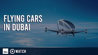Download Flying Cars in Dubai Video