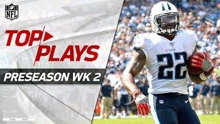 Download Top Plays of Week 2   NFL Preseason Highlights Video