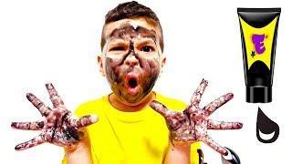 Download Егорка его руки и лицо черные Video