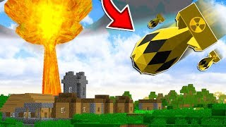 Download EXPLODING A NUKE MISSILE IN MINECRAFT!!... (DO NOT TRY THIS) Video