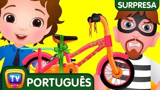 Download ChuChu TV Policia Ovos Surpresa – Episodio 14 – os ladrões de bicicleta | ChuChu TV Video