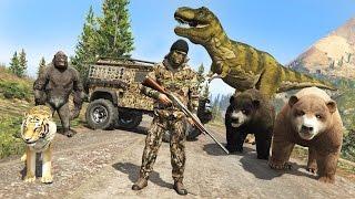 Download GTA 5 Mods - HUNTING RARE & EXOTIC ANIMALS IN GTA 5!! GTA 5 Hunting Mod! (GTA 5 Mods Gameplay) Video