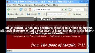 Download The Book of Mozilla Top # 10 Facts Video