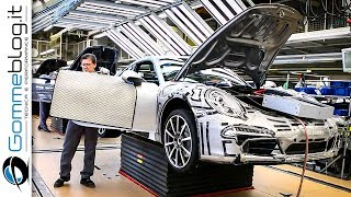 Download CAR FACTORY: Porsche 911 HOW IT'S MADE Production Plant 2017 Video