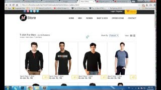 Download {How2Create}Ecommerce Website HTML5 CSS3 With Zoom Effect, Quick Product View,Smooth Slider Advance Video