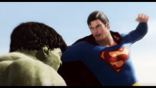 Download Superman vs Hulk - The Fight (Part 1) Video