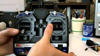 Download FlySky Fly Sky CT6B 2.4GHz 6ch RC TX/RX Transmitter & Receiver Review Video