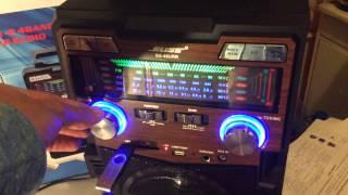 Download Магнитола мр3 плеер бумбокс Bliss BS-48URR Video