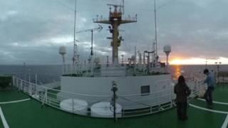 Download VR北極体験!−研究船「みらい」の甲板をVRで体験しよう Video