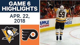 Download NHL Highlights | Penguins vs. Flyers, Game 6 - Apr. 22, 2018 Video
