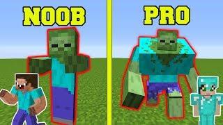 Download Minecraft: NOOB VS PRO!!! - ZOMBIE MUTANT EXPERIMENTS IN MINECRAFT! Video