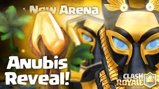 Download Clash royale - introducing the Anubis + New arena (new legendary card, ancient update concept idea) Video