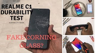 Download Realme C1 -Durability test- Drop test, Bend test, Screen test, Scratch test, Water & Flame test Video