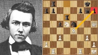 Download A Prodigy Confirmed! || Morphy vs Löwenthal (1850) GAME 2 Video