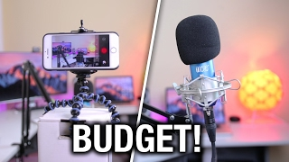 Download How to Make YouTube Videos on $100 Budget! | BEST Budget YouTube Equipment 2017! Video