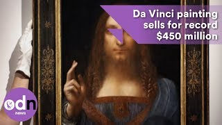 Download Da Vinci painting sells for record $450 million Video