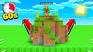 Download MINECRAFT but LAVA rises every SECOND! Video