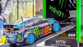 Download Fantastic KEN BLOCK RC truck with the Hoonigan Ford Fiesta on board! Video