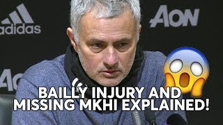 Download Jose Mourinho: BAILLY INJURY and MISSING MKHITARYAN EXPLAINED! Full Press Conference Video