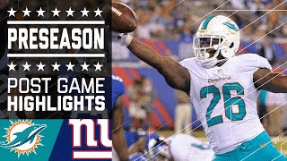 Download Dolphins vs. Giants | Game Highlights | NFL Video