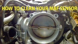 Mercedes Bosch Throttle Body (W203) Internal Cleaning Free Download