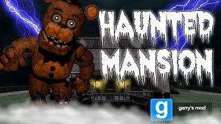 Download Freddy's Haunted Mansion | Scary FNAF Gmod Minigame Video