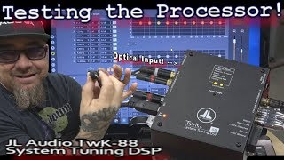 Download Testing the Processor! JL Audio TWK-88 Crossover/EQ - Clean Optical Inputs - Escalade Install Vid 4 Video