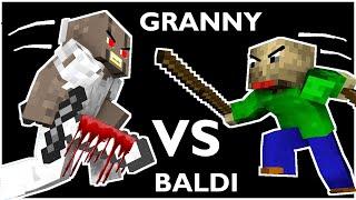 Download Monster School : BALDI'S BASICS VS GRANNY CHALLENGE ALL EPISODE 1 - Minecraft Animation Video