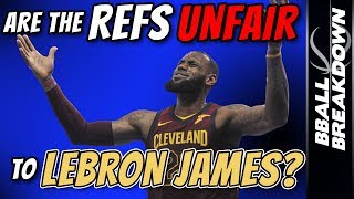 Download Are The Refs UNFAIR to LEBRON JAMES? Video