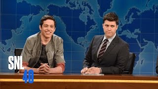 Download Weekend Update: Pete Davidson on Cyber Security and Gay Porn - SNL Video