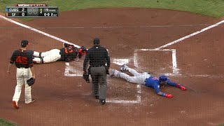 Download Baez legs out a two-run inside-the-park homer Video