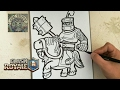 Download COMO DIBUJAR AL PRINCIPE OSCURO - CLASH ROYALE Video