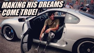 Download Making Dreams Come True! (Ayden's Cars For Kids 2018) Video