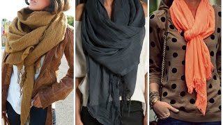 Download 10 Maneras Simples De Usar Tus bufandas/ Pashmina !! Video