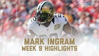 Download Mark Ingram's Huge 158-Yard Performance! | Saints vs. 49ers | NFL Week 9 Player Highlights Video