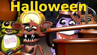 Download Baby Foxy Halloween Trick or Treat - FNAF SFM Animation Video