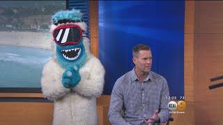 Download Mountain High's Mascot Yeti Ready For Ski And Snowboard Season Video