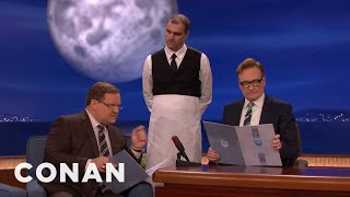 Download The Waiter Who Doesn't Write Anything Down Is Back - CONAN on TBS Video