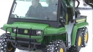 Download John Deere Gator TH 6x4 Diesel ″WINTER VIDEO″ Video