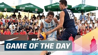 Download USA vs ARG - Game of the Day (Day 2) - 2015 FIBA 3x3 U18 World Championships Video