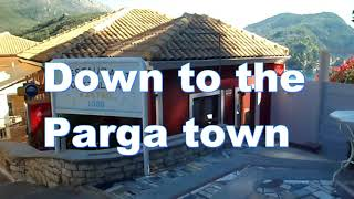 Download Walk from Valtos Beach to Parga Town Video