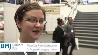 Download BMJ Careers Fair - Monica Rymaszewsk, past delegate Video