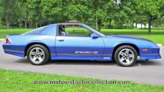 Download 1987 Chevrolet Camaro Z28 IROC-Z **SOLD** - Video Test Drive with Chris Moran - Supercar Network Video