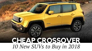 Download 10 Cheapest Crossover Cars On Sale in 2018 (Interior and Exterior Review) Video