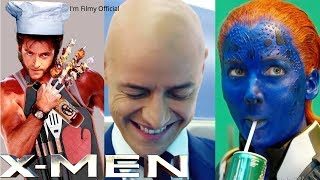 Download X-Men Series Hilarious Bloopers and Gag Reel - Try Not To Laugh With Hugh Jackman Video