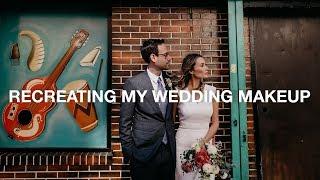 Download Recreating My Wedding Makeup Look | ttsandra Video