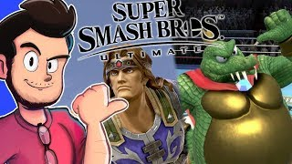 Download Ant Reacts to New Smash Bros Ultimate Characters - AntDude Video