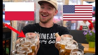 Download An AMERICAN visits POLAND! (First Reaction) Video