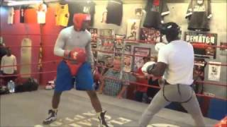 Download Florida Golden Gloves champion Julien March sparring at Flacco's Boxing Gym Video